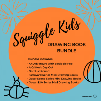 Squiggle Kids Drawing Book Bundle